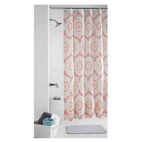 Mainstays Coral Capri Shower Curtain