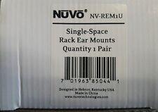 Nuvo NV-REM1U single space rack ear mounts. 1 new pair per box