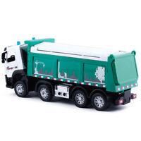 1:50 Simulation FM Dump Truck  Car Model Toy Diecast with Sound Lights Kids Gift