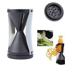 Vegetable Spiral Slicer Cutter Spirelli Kitchen Tool Spiralizer Twister Gra