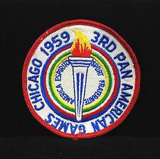 1959 3rd PAN AMERICAN GAMES Chicago Patch