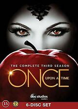 Once Upon a Time Complete Series 3 DVD All Episodes Third Season UK Release NEW