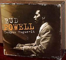 PROPER 4-CD Set: BUD POWELL - Tempus Fugue-It -  PROPERBOX 22 - 2001 UK