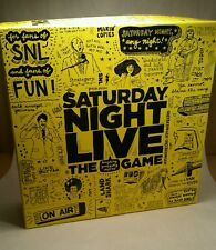 Snl Saturday Night Live Game Board 2 Timers 1 Card Sleeve 400 Cue Cards Fun game