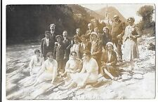 RP Mixed Group at Riverside, Possibly Scouts & Guides By Lapel Badges, Unposted