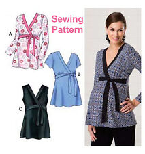 Kwik Sew K3487 Pattern Misses Maternity Tops XS-XL