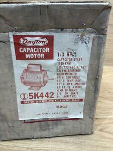 NOS DAYTON 5K442 MOTOR BRAND NEW IN FACTORY BOX 1/3 HP
