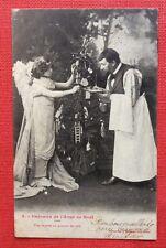 CPA. 1904. Cadeaux de l'Ange de Noël. Une RECETTE au GARÇON DE CAFÉ. Bergeret.