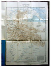 1929 Exploration with Map - PAPUA NEW GUINEA - Unkown Interior - TRIBAL VILLAGES
