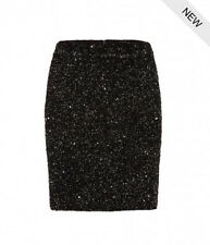 "**SALE* NEW ""ALLSAINTS"" GUNMETAL EMBELLISHED ""ELISE"" SKIRT US ""4"" (UK 8) w TAGS!"