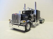 DCP 1/64 SCALE 389 PETERBILT FLAT TOP BLACK & CHROME, PRIDE & CLASS HOOD & GRILL