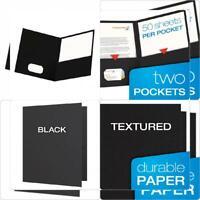 School Grade Twin Pocket Folders; 100 per Box; no ESS50763