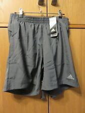 "ADIDAS EC3689 RUN IT SHORT M, 7"" Leg - Grey - Lightweight + pant - Size XL - NEW"