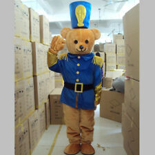 Cosplay Adult Military Uniform Bear Mascot Costume Panda Outfit Party Dress Suit