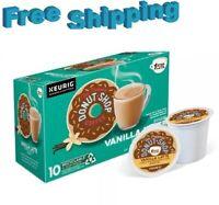 The Original Donut Shop 1 Step Vanilla Latte Coffee Keurig k-cups