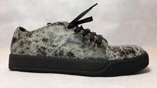 Lanvin Men Sneakers Size 7 NIB Black/light Grey