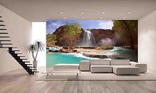 Havasu Falls Wall Mural Photo Wallpaper GIANT DECOR Paper Poster Free Paste