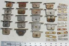 19 Full Mortise Drawer Cabinet Furniture Locks Antique Used Salvage Hardware