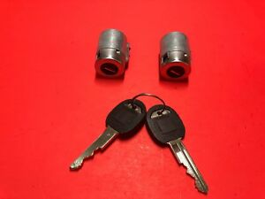 1988-1994 CHEVROLET GMC C/K PICKUP DOOR LOCK CYLINDER SET 2 KEYS NEW!