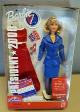 Mattel Barbie Doll for President 2000 Holiday Toy Gift  Red Box #26288