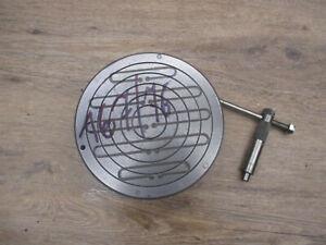 TOP ! ECLIPSE Magnetspannfutter 167mm - Magnetfutter Magnetspannplatte  Drehbank