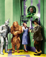 WIZARD OF OZ, AT THE DOOR  classic 8 x 10 GREAT COLOR !