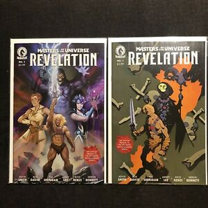 MASTERS OF THE UNIVERSE REVELATION He-Man 1 DARK HORSE Comics A B Set 2021 NM+