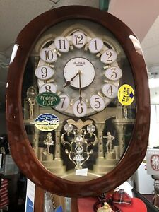 Rhythm Clock Small World Battery 4MH834WB06