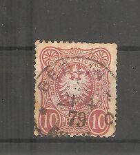 Deutsches Reich Briefmarken 1875 10 PFENNIGE Mi.Nr. 33 Berlin 4.1879