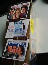 NOTTING HILL-BRIDGET JONES'S DIARY-MICKEY BLUE EYES Triple movie set VHS sealed