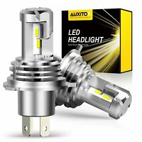 AUXITO H4 9003 LED Headlight Kit Hi Lo Beam Bulb 24000LM WHITE 6500K 1:1 Halogen