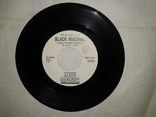 """Black Machine / Max """"Who"""" –  Disco Vinile 45 Giri 7"""" Edizione Promo Juke Box"""
