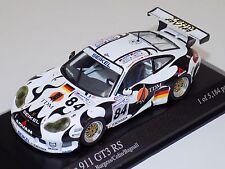 1/43 Minichamps Porsche 911 GT3 RS 24 Hours of LeMans 2004 Car #84