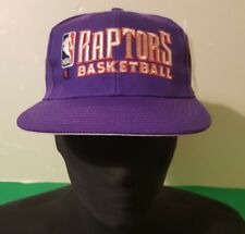 Vintage nba Toronto  raptors  Hat Champion Cap Cappello basketball one size