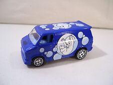 NWOB RACING CHAMPIONS CASPER THE FRIENDLY GHOST '75 CHEVY VAN DIE CAST CAR BLUE