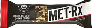 MET-Rx Big 100 Colossal Protein Bars Chocolate Chip Cookie Dough (9 Count)