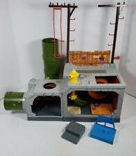 TMNT Sewer Lair Playset Teenage Mutant Ninja Turtles 1989 PlayMates (Incomplete)