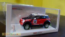1:43 True Scale TSM, 2011 Mini Countryman All4 Racing, Monster #305 Dakar Rally