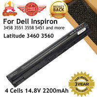New 14.8V 40Wh M5Y1K Battery for Dell Inspiron 3451 3551 3458 3558 07G07 Laptop