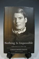 Nothing Is Impossible Reflections on a New Life by Christopher Reeve HC (243)