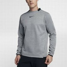 NIKE THERMA Men's Long Sleeve Golf Top. Wolf Grey. Small. 854491