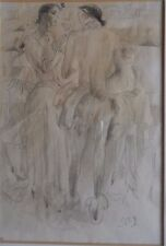PAUL SCHEURICH 1883-1945 ORIGINAL PAINTING DANCERS: THE DRESSING ROOM PROVENANCE