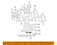 GM OEM Rear Seat-Cup Holder 19256630