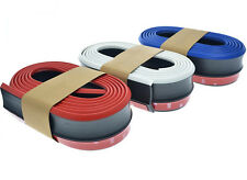 2.5M Car Front Bumper Skirts Strip Lower Lip Two colors Protector Rubber
