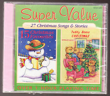 27 CHRISRMAS SONGS (19) & STORIES (8) - 27 TRACK CD - NEW & SEALED