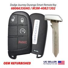 Dodge Durango  Journey Smart Remote Key 4 Buttons 68066350AG M3M-40821302