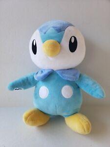 Build A Bear Workshop Pokémon Piplup Blue Penguin Plush Rare No Sound (C6)