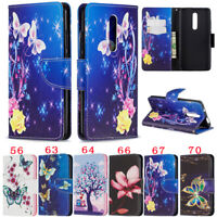 Butterfly Wallet Leather Flip Case Cover For Xiaomi 9T Redmi 8 Note 8 Note 7 K20