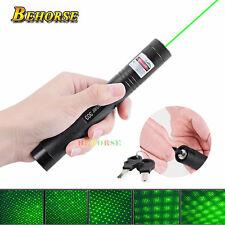 303 Green Power Green Laser Pointer Star Cap Gazing Pen 2 in 1 Beam Light Lazer
