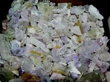Kunzite crystal natural pink/clear 1/8-1/2 inch small piece 2 oz lots